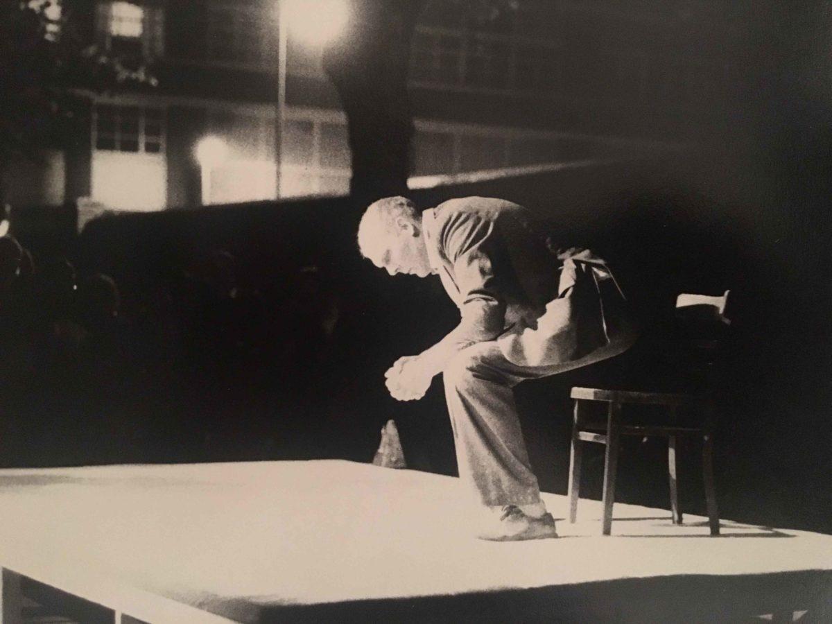 Nigel Rolfe, 'Shooting Shitting', 1988